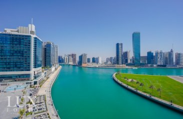 Two Bedroom, Two Bathroom, Apartment For Sale in Bays Edge, Business Bay, Dubai - Full Canal View  Best location   Good ROI