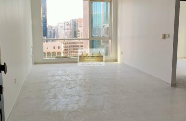 One Bedroom, Two Bathroom, Apartment To Rent in Hamdan Street, Abu Dhabi - Good Size! with Lovely Community View