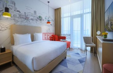 Studio, One Bathroom, Hotel Apartment For Sale in Jumeirah Village Triangle (JVT), Jumeirah Village, Dubai - Attractive ROI   Fully Furnished   Fully Serviced