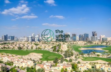 Four Bedroom, Four Bathroom, Penthouse For Sale in Golf View, Dubai Sports City (DSC), Dubai - 4 Bed Deluxe Penthouse   Incredible golf Views