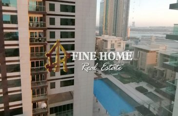 Two Bedroom, Three Bathroom, Apartment For Sale in Burooj Views, Al Reem Island, Abu Dhabi - Ready To Move To your Apartment with Pool View