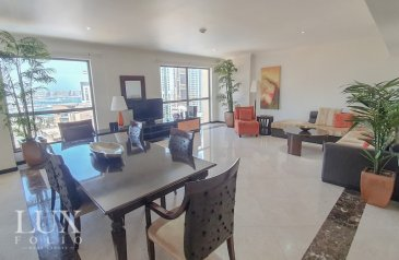 Three Bedroom, Four Bathroom, Apartment To Rent in Al Murjan 4, Jumeirah Beach Residence - JBR, Dubai - Upgraded | Chiller Free | Furnished or Unfurnished