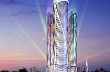 One Bedroom, Two Bathroom, Apartment For Sale in DAMAC Towers by Paramount, Business Bay, Dubai - Luxury Furnished 1BR | High Floor | High ROI