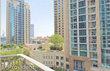 One Bedroom, One Bathroom, Apartment For Sale in Boulevard Central Tower, Downtown Dubai, Dubai - Center Of Downtown   Direct To Burj Khalifa & Blvd
