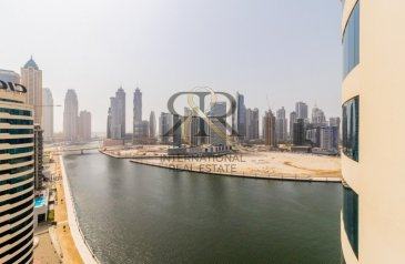 1,227 Sq Ft, Office To Rent in Business Tower, Business Bay, Dubai - Fully Fitted Office Space   Dubai Canal View
