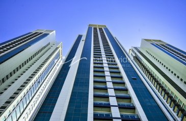 One Bedroom, One Bathroom, Apartment To Rent in Al Maha Tower, Al Reem Island, Abu Dhabi - No Commission | 12 Payments | Full Facilities
