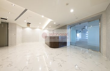 10,850 Sq Ft, Office To Rent in Ascott Park Place, Sheikh Zayed Road (SZR), Dubai - Full Floor   Fitted Office   World Trade Center