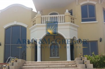 Four Bedroom, Six Bathroom, Villa To Rent in Frond K - Al Khisab, The Palm Jumeirah, Dubai - 4 Bedroom Garden Home with Private Pool