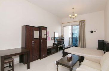 Studio, One Bathroom, Apartment For Sale in Elite Sports Residence 3, Dubai Sports City (DSC), Dubai - For Sale | Well Maintained | Furnished |Studio Apt