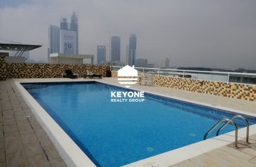 One Bedroom, One Bathroom, Apartment To Rent in Grand Midwest, Al Barsha, Dubai - Fully Furnished | Sheikh Zayed Road | 1 Bedroom