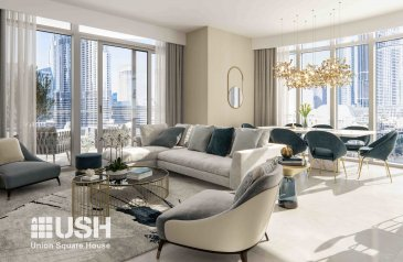 Two Bedroom, Two Bathroom, Apartment For Sale in Grande, Downtown Dubai, Dubai - VIEWS OF THE BURJ AND OPERA I INVESTOR DEAL 2BED