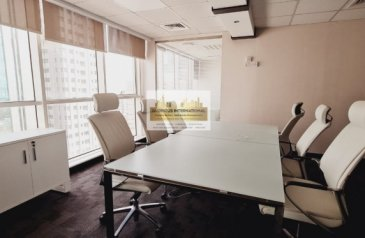 2,100 Sq Ft, Office To Rent in Al Khalidiyah, Abu Dhabi - Ready to Move Office w/ 2 Car Parking