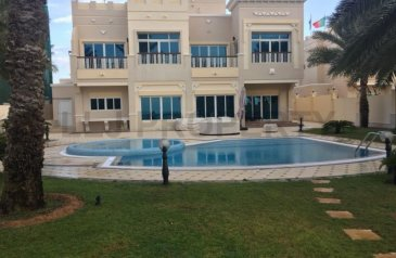 Four Bedroom, Five Bathroom, Villa For Sale in Marina Village, Abu Dhabi - Vacant soon!Private Pool and Garden / Full Sea View