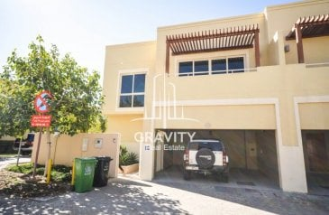 Four Bedroom, Five Bathroom, Townhouse To Rent in Qattouf Community, Al Raha Gardens, Abu Dhabi - HOT DEAL   Space Efficient 4BR Type S Townhouse