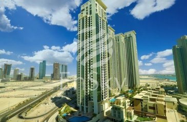 Three Bedroom, Four Bathroom, Apartment For Sale in Marina Heights, Al Reem Island, Abu Dhabi - Excellent Apartment with all Ensuite and Balcony