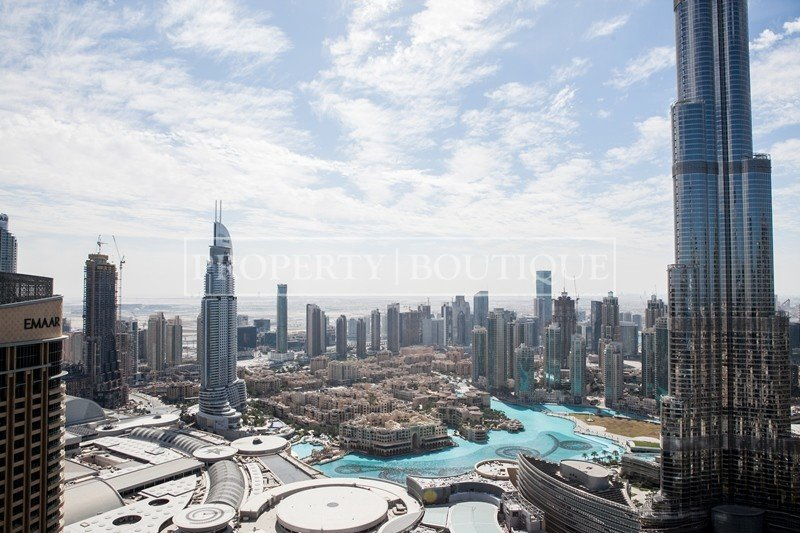 Full Burj Khalifa View  1 Bedroom  Address Blvd