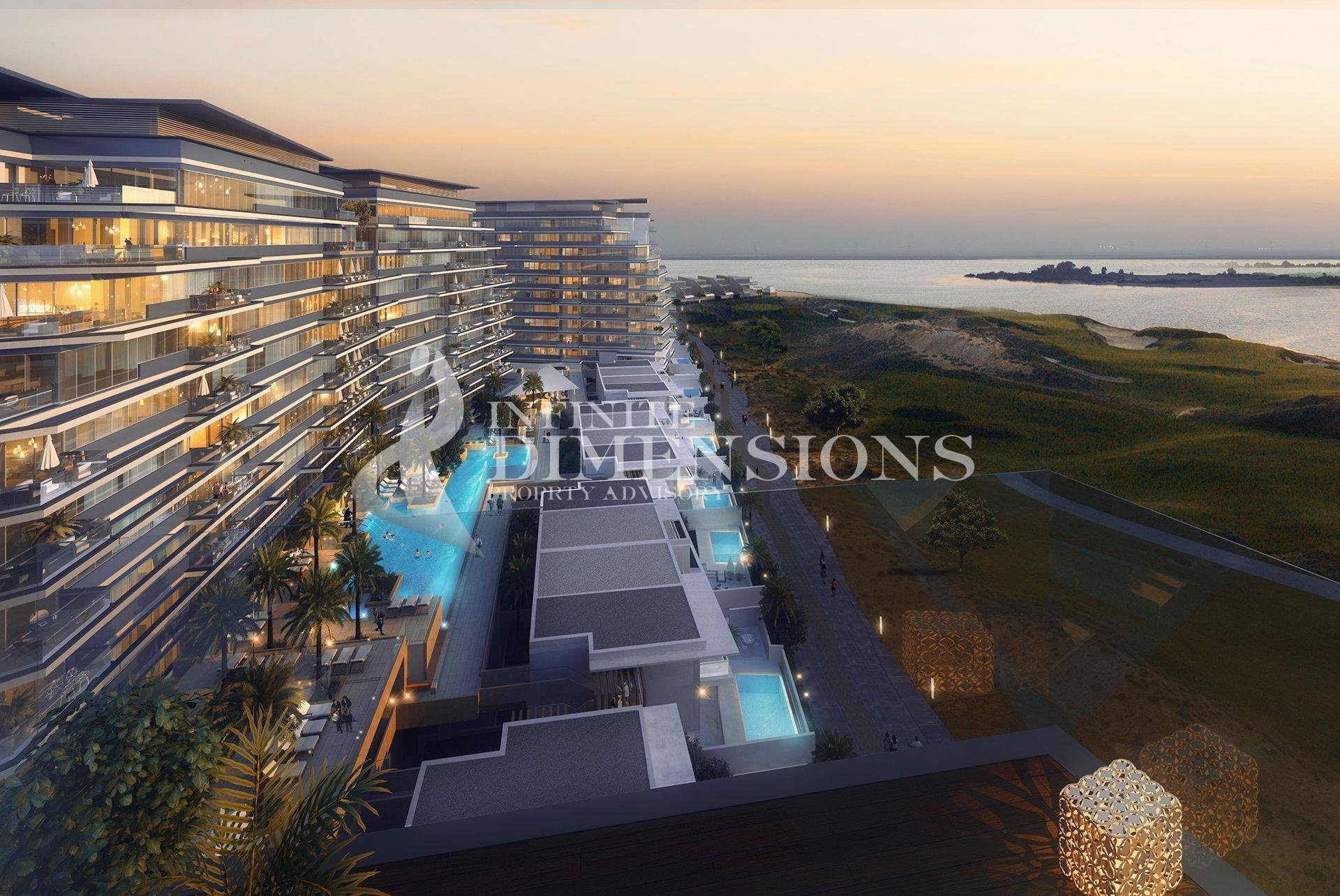 No Commision - Off Plan 3+m For Sale In Yas Island!