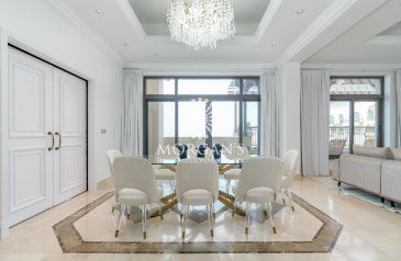 Four Bedroom, 7 Bathroom, Penthouse To Rent in Fairmont Residence North, The Palm Jumeirah, Dubai - EXCLUSIVE DUPLEX PENTHOUSE   PRIVATE POOL
