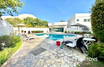Four Bedroom, Four Bathroom, Villa To Rent in Business Bay, Dubai - Lovely family villa | Light and Bright |Vacant now