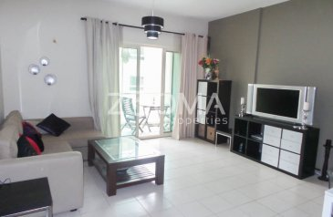 One Bedroom, Apartment To Rent in Al Samar 1, The Greens, Dubai - Modern Fully Furnished | 6 CHQS | Balcony