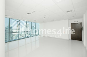 633 Sq Ft, Office To Rent in B2B Tower, Business Bay, Dubai - Bright Fitted Office facing Canal, Business Bay