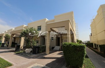 Two Bedroom, Three Bathroom, Townhouse For Sale in Al Khaleej Village, Al Ghadeer, Abu Dhabi - Own This Magnificent Townhouse With Rent Refund