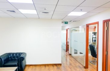 1,820 Sq Ft, Office For Sale in Empire Heights, Business Bay, Dubai - Furnished Office | 3 Parking | Good ROI | Prime Location