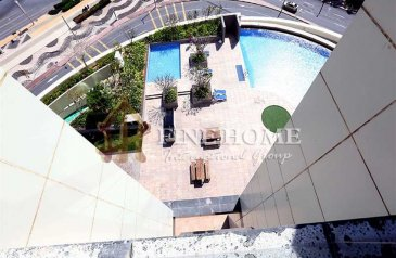 Two Bedroom, Apartment For Sale in Marina Blue Tower, Al Reem Island, Abu Dhabi - Ready to Move Now   2BR Apartment with Pool View