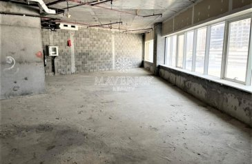 1,340 Sq Ft, Office To Rent in Westbury Tower, Business Bay, Dubai - Burj View | Shell and Core Office | 4 Cheques