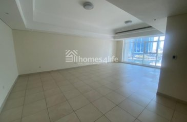 Two Bedroom, Four Bathroom, Apartment To Rent in Al Seef 3, Jumeirah Lakes Towers - JLT, Dubai - Lake View  Vacant  Large Layeout  Maid Room