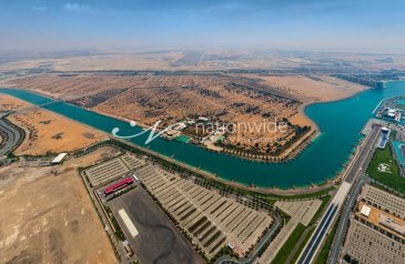 Commercial Plot For Sale in Khor Al Raha, Al Raha Beach, Abu Dhabi - Perfect Investment in this Land Commercial Plots