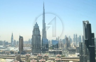 One Bedroom, Two Bathroom, Apartment For Sale in Index Tower, Dubai International Financial Centre ( DIFC), Dubai - Exclusive 1BR with Full Burj Khalifa View in DIFC