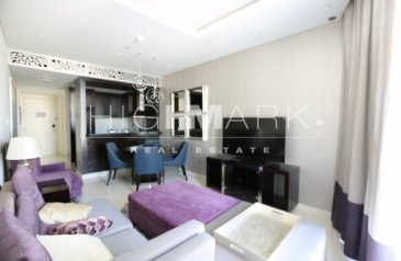 Two Bedroom, Three Bathroom, Hotel Apartment To Rent in The Distinction, Downtown Dubai, Dubai - Well Maintained | Furnished | High Floor | Ready