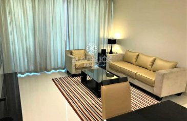 One Bedroom, Two Bathroom, Apartment For Sale in Damac Maison Canal Views, Business Bay, Dubai - Furnished 1BR | Canal View | Rented | High Floor