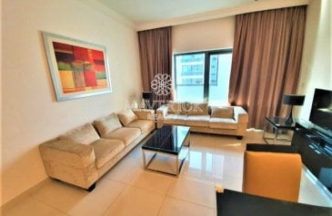 Two Bedroom, Two Bathroom, Apartment For Sale in Capital Bay, Business Bay, Dubai - Luxury Furnished 2BR   Investor Deal   Rented
