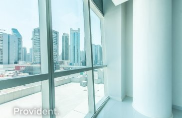241 Sq Ft, Office To Rent in B2B Tower, Business Bay, Dubai - Bright and Spacious Fitted Office | Vacant