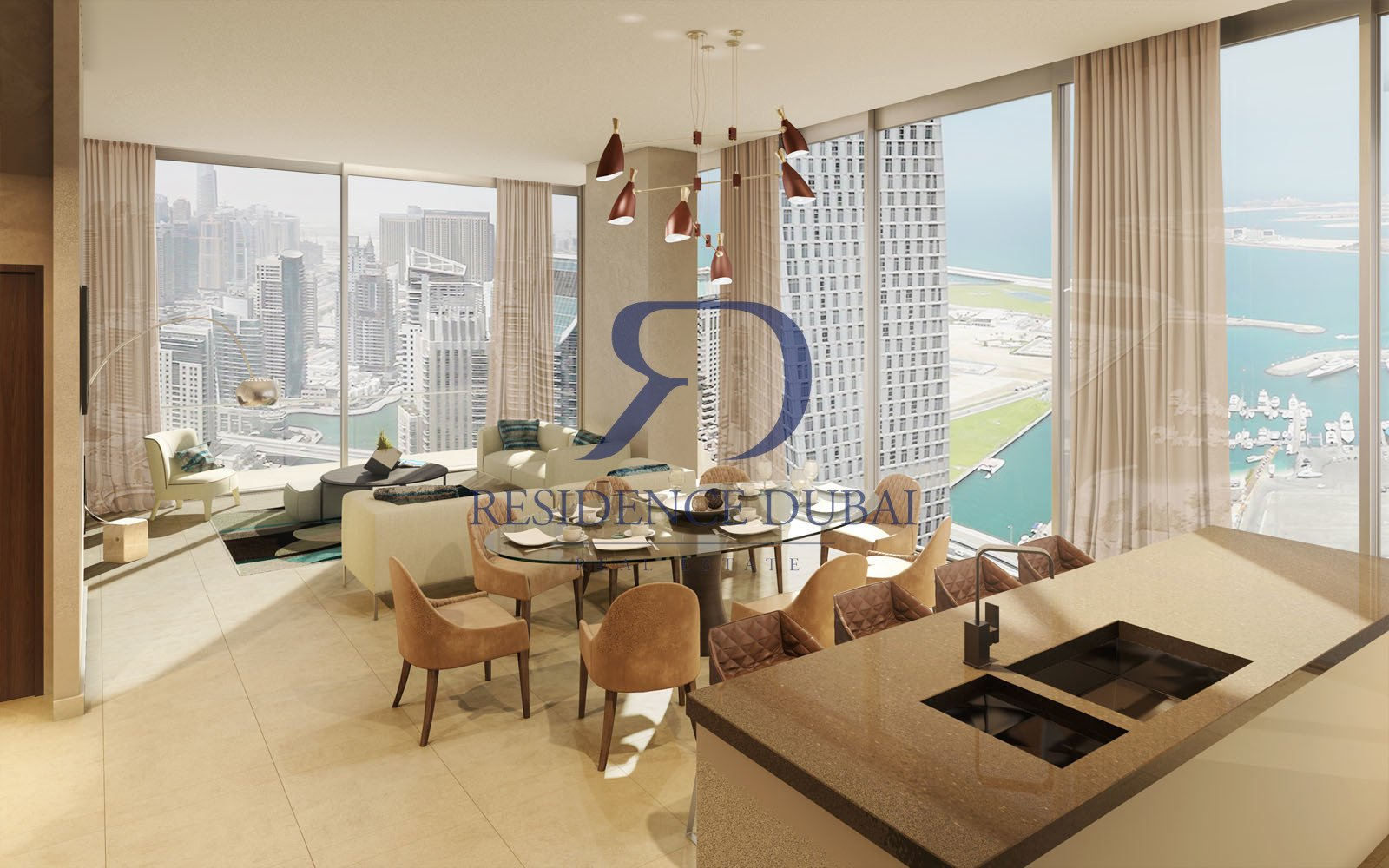 Rr S 591367 Two Bedroom Three Bathroom Apartment For Sale In Dubai Marina Dubai