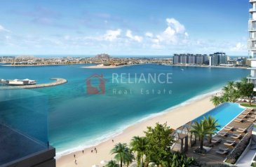 Two Bedroom, Two Bathroom, Apartment For Sale in Beach Isle, Dubai Harbour, Dubai - Come home daily to your own Beach Resort