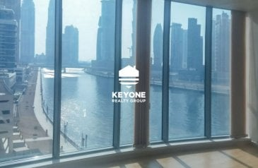 1,141 Sq Ft, Office For Sale in Business Tower, Business Bay, Dubai - Good Deal | Fully Furnished Unit | Canal View