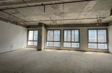 1,045 Sq Ft, Office For Sale in Silver Tower, Business Bay, Dubai - Shell & Core Office walking distance to Metro .