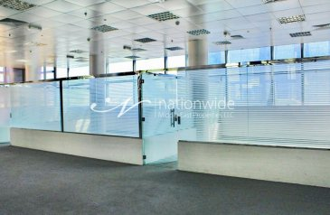 1,533 Sq Ft, Office To Rent in Defense Road, Hazza Bin Zayed Street, Abu Dhabi - Prime Location Fitted Office Space for Rent