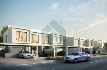 Three Bedroom, Three Bathroom, Townhouse For Sale in Arabella Townhouses, Dubailand, Dubai - Grab the best deal 3 Br Semi Detached | Off Plan