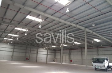 Ready to Move in, 32,000 Sq Ft Warehouse To Rent in Mussafah, Abu Dhabi - Warehouse & Office Space Available for Rent