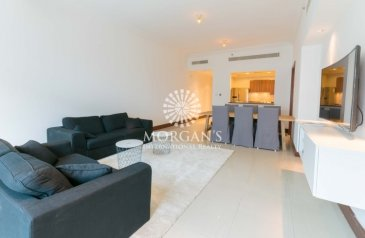 One Bedroom, Two Bathroom, Apartment For Sale in Golden Mile 5, The Palm Jumeirah, Dubai - Spacious   1BR Unfurnished   Great View