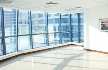 893 Sq Ft, Office For Sale in Jumeirah Bay X2, Jumeirah Lakes Towers - JLT, Dubai - Lake and SZR view I Fitted office I Vacant
