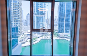 One Bedroom, One Bathroom, Apartment To Rent in MBL Residence, Jumeirah Lakes Towers - JLT, Dubai - LUXURY NEW 1BED APARTMENT WITH LAKE VIEW