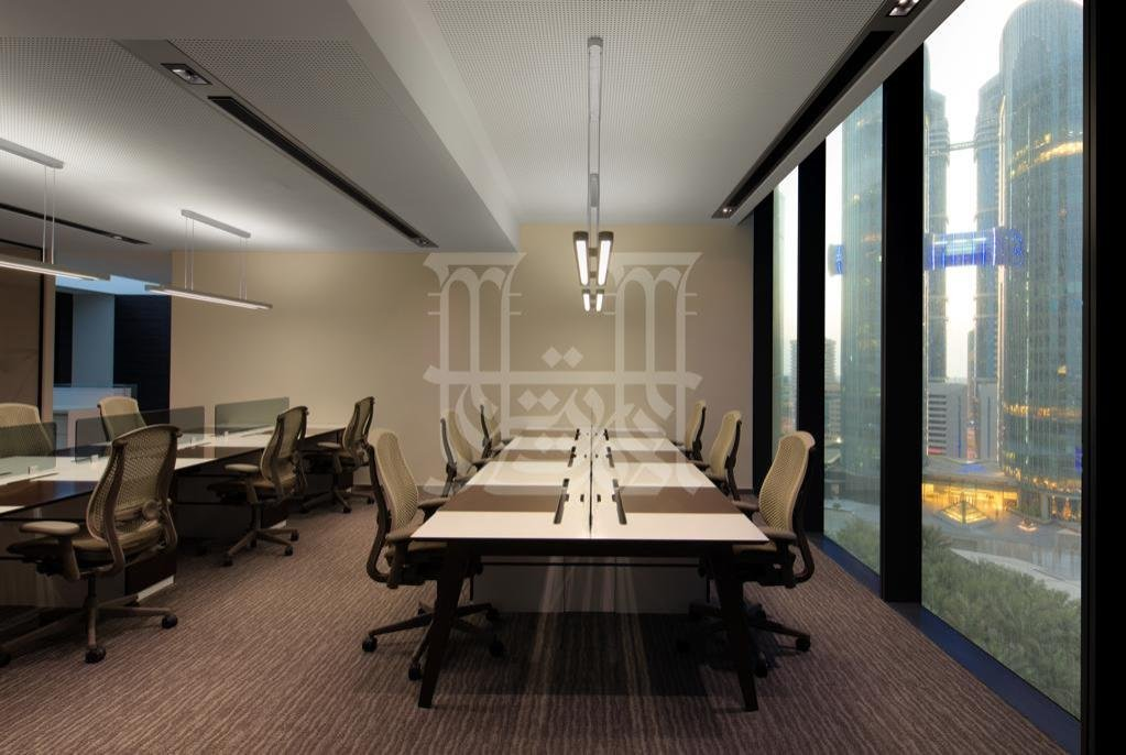 Contemporary Furnished Office In A Grade A Tower In Difc