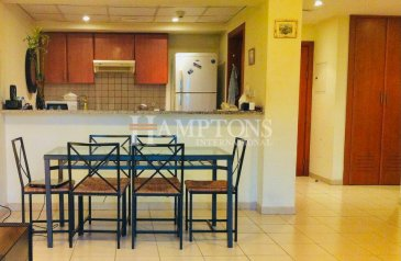 One Bedroom, One Bathroom, Apartment To Rent in Al Dhafrah, The Greens, Dubai - Available   Fully Furnished   Park View.