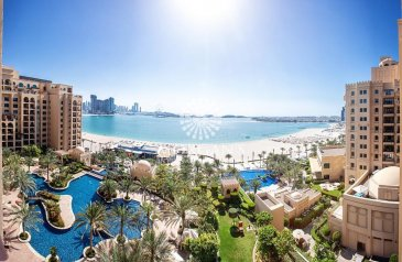 Three Bedroom, Five Bathroom, Apartment For Sale in Fairmont Residence North, The Palm Jumeirah, Dubai - Full Sea View / 3 Bed / Huge Terrace