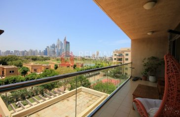 Two Bedroom, Three Bathroom, Apartment For Sale in Golf Tower 1, The Views, Dubai - Rented 2 Beds 2.5 Baths Large Size With Golf View